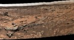 MSL Curiosity Mastcam 100 medium-far field panorama of Yellowknife Bay Area - afternoon Sol 186