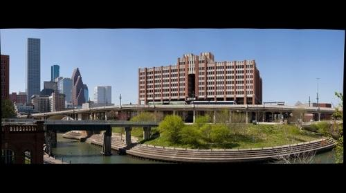 University of Houston Downtown Campus on Buffalo Bayou
