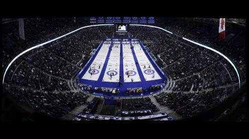 2013 Tim Hortons Brier curling event in Edmonton