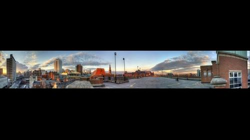 Leeds Sundown: Cityscape 360
