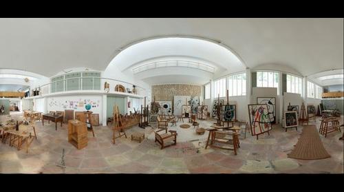 Taller Sert. Fundación Pilar y Joan Miró. Mallorca. Illes Balears 360º
