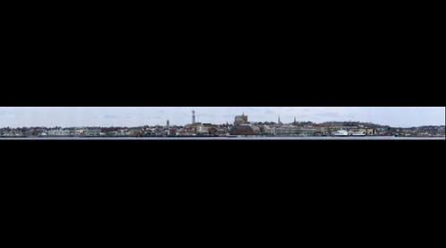 Revised Panorama of New London Waterfront