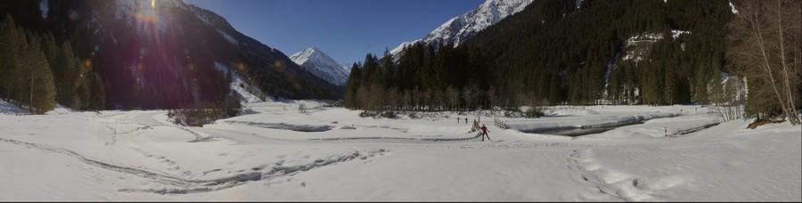 Winterlandschaft im Stubaital 2