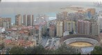 Malaga View from Parador Gibralfaro
