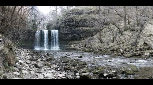 Sgwd yr Eira waterfall, Ystradfellte