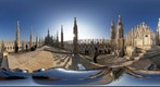 On the roof of The Cathedral Duomo di Milano
