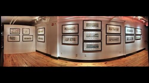 Hoboken Historical Museum, Upper Gallery - Meadowlands, A Wetlands Survival Story: Watercolor Illustrations by Thomas F. Yezerski; Jan. 27 - March 10, 2013