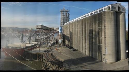 Dryfus Grain Elevator, Portland, OR