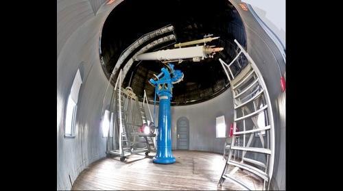 "Brown University's 1891 12"" Brashear Refractor at Ladd Observatory"