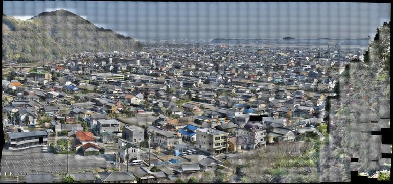 Shizuoka-, Shimada Noda city view
