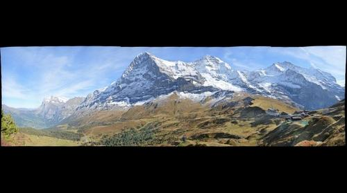 Eiger, Mönch, Jungfrau and Grindelwald 2