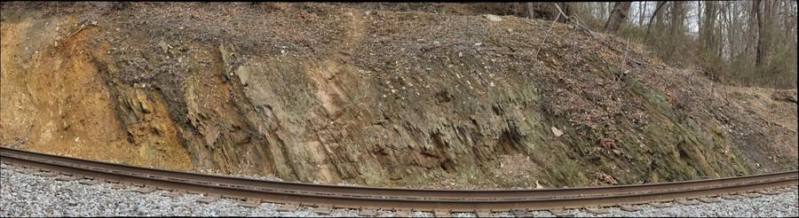 Harpers Formation, Throroughfare Gap, Virginia