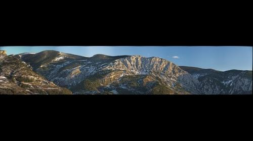 Alinya Anticline, Pyrenees, Catalonia, Spain
