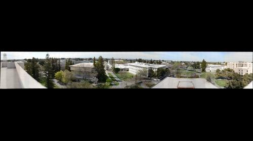 UC Davis Gigapixel Panorama from top of Physics Building