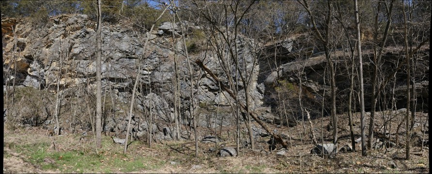 Recumbent anticline in the Edinburg Formation, Page County, Virginia