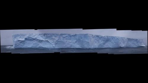 Antartic Ocean Mega Iceberg