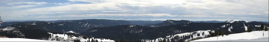 Alpes depuis Feldberg - 06.03.2013
