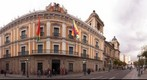 View of Palacio de Gobierno from Plaza Murillo, La Paz
