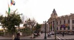 View of Plaza Murillo, La Paz