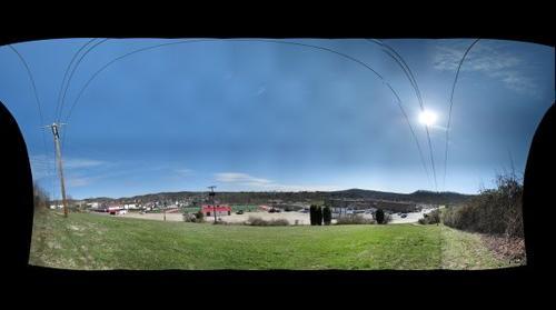Hurricane High School Stadium-Distance View