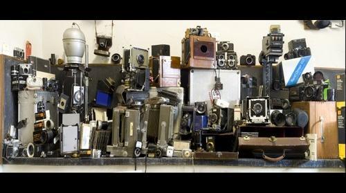 Still life, with cameras