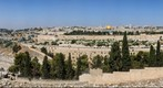 Old City of Jerusalem, Overlooked from Mt. Olive