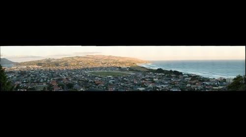 South Dunedin from St Clair
