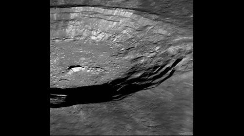 Moon Crater Panorama - credit to NASA/GSFC/Arizona State University