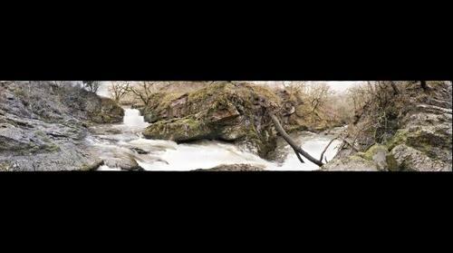 Sychryd Waterfall, Ystradfellte