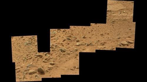 Mars Curiosity Sol 109