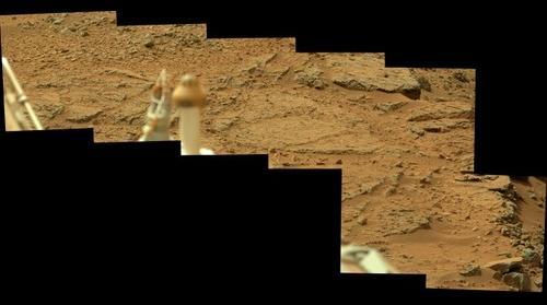 Mars Curiosity Sol 108