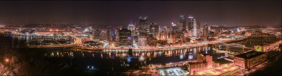 Pittsburgh from Mt. Washington