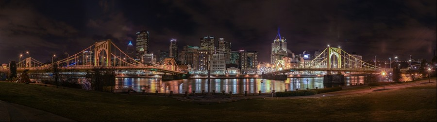 Pittsburgh from the North side
