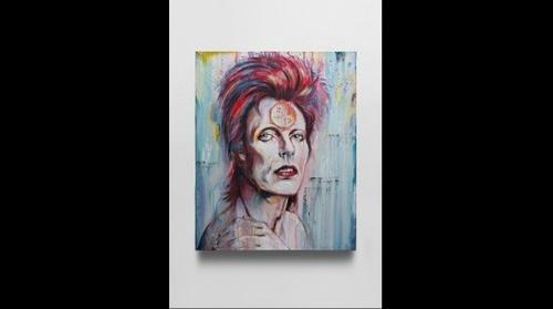 'David Bowie'- Marcus Raynal Hislop