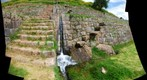 Ancient Inca water font at Tipon