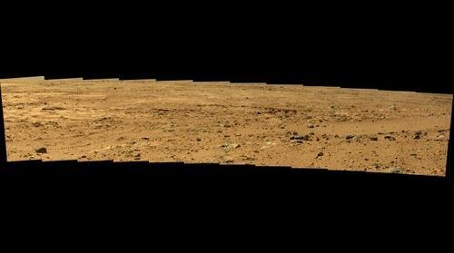 Mars Curiosity Sol 54 Panorama