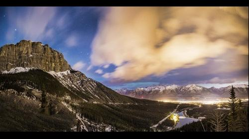 Mt. Rundle and Canmore