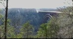 New River Gorge Bridge in March