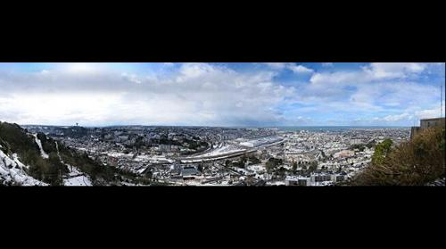 Cherbourg, visite virtuelle très haute définition 11 Gigapixels La plus grande photo de Normandie