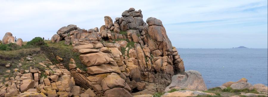 rocher de Côte de Granit Rose
