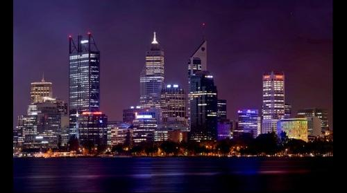 Perth City By Night