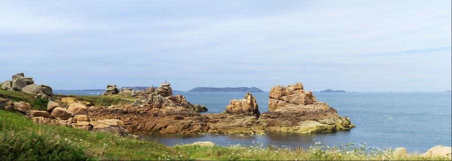Côte de Granit Rose, avancée rocheuse