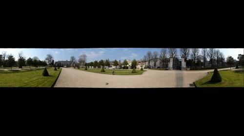 Rouen - L'entrée du jardin des plantes