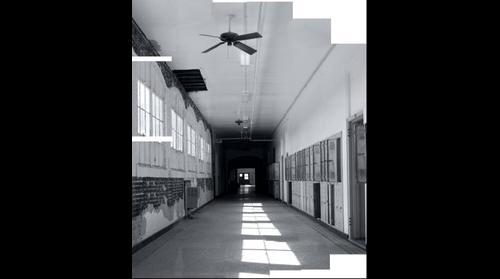 Old Sarasota Highschool hallway