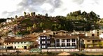 View of Cusco from Barrio Profesional