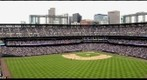 Opening Day for the Colorado Rockies at Coors Field in Denver against the San Diego Padres