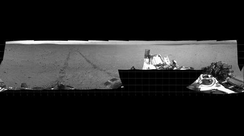 Mars Curiosity Panorama PIA15698 - Sol 30 - Sept 6, 2012