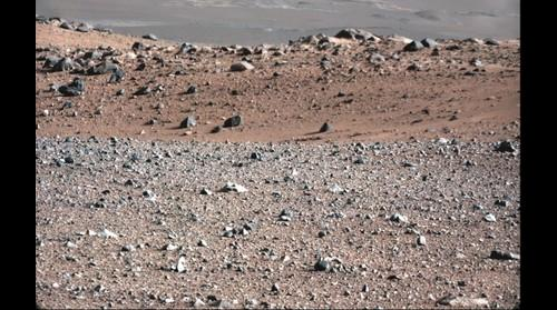 Mars Curiosity Panorama Aug 23, 2012 - Sol 17