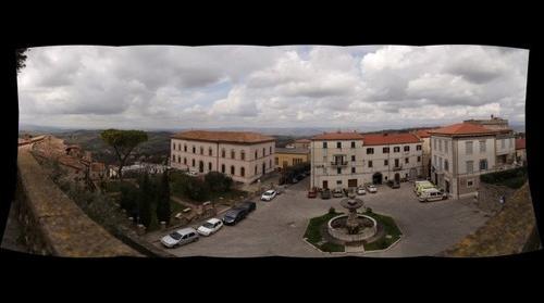 Panorama dalla torre di Manciano(GR)