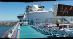 Port of Los Angeles, CA - Sapphire Princess Sun Deck 360 Starboard Side